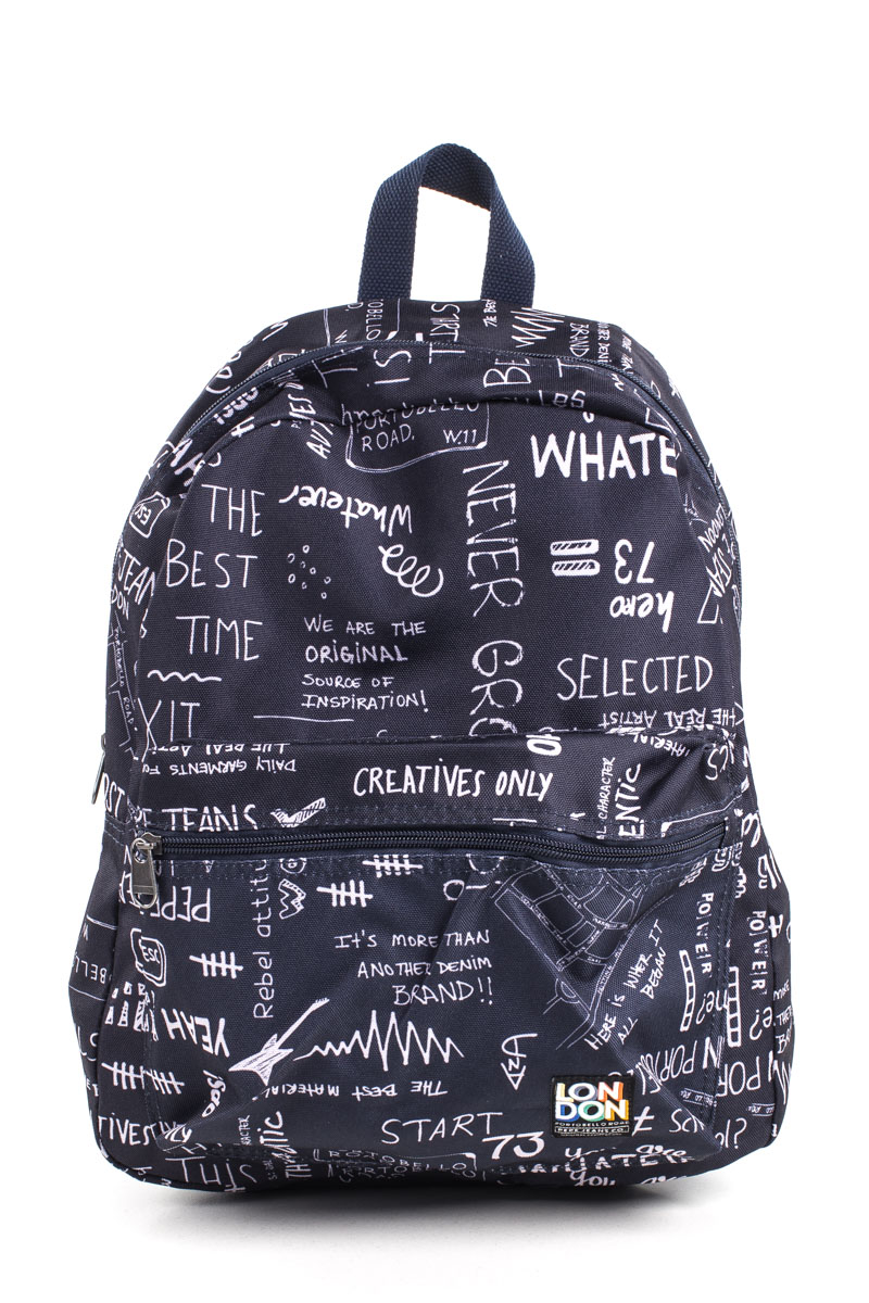 PRINTED BOY BACKPACK