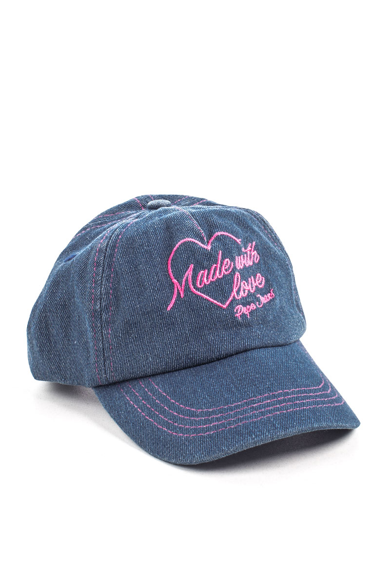 DENIM GIRL CAP